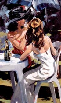 女性フィーリングアート